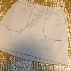 Giorgio Armani Tan Skirt